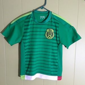 Other - MEXICO NATIONAL TEAM T SHIRT BLOUSE YOUTH SZ 10